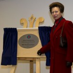 Princess Ann unveils plaque to commemorate the newly renovated headquarters of St. Andrews First Aid