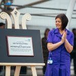 Plaque Unveiling Nightingale Hospital