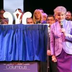 Plaque Unveiling Stand Plaque Unveiling Curtains Angela Rippon