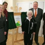 Plaque Unveiling Easel used to open The Deacon Unit Learning Disability Service