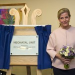 HRH Sophie the Countess of Wessex visits Frimley Park Hospital to officially open its brand new Neonatal Unit.