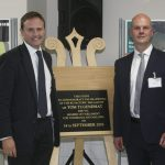 Official opening of H+H's newly refurbished Borough Green factory by Tom Tugendhat, MP
