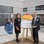 The Cambridge Royce Facilities were officially opened on by Julia King, Baroness Brown of Cambridge, who unveiled an official plaque at the Maxwell Centre.