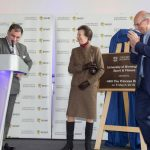 Princess Ann unveils plaque to commemorate Birmingham Universities Sport & Fitness Centre