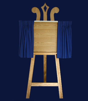 Unveiling Solution - Classic Display Easel and Unveiling Curtains