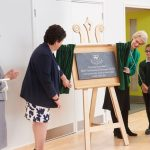 The Duchess of Gloucester opens new junior school at St Helen's, Northwood