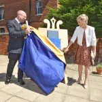 HRH Sophie the Countess of Wessex at The Alexandra Wellbeing House, Gloucester.