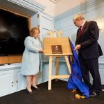 Gordon Brown officially opens Panmure House