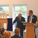 The Duke of Gloucester unveils plaque to officially open the lower school at Epsom CollegeThe Duke of Gloucester unveils plaque to officially open the lower school at Epsom College